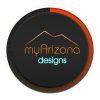 myArizona Designs Logo wth blue 2